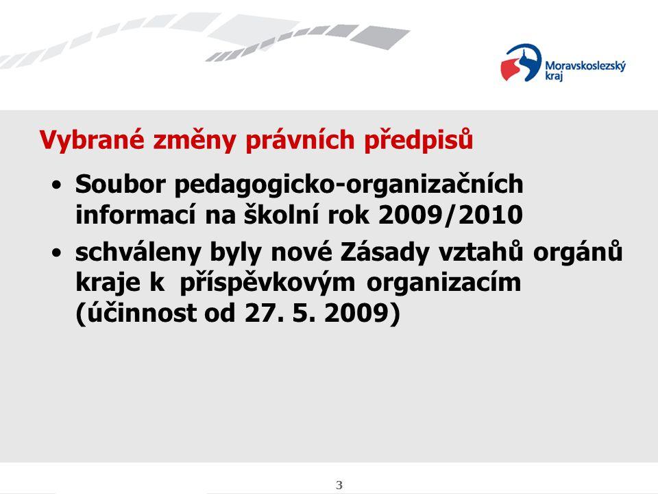 4 Připravované změny právních předpisů informace k 3.