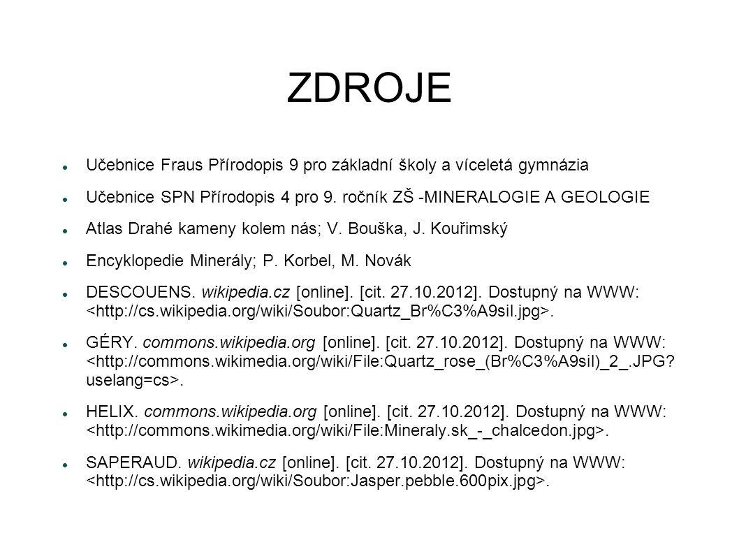 ZDROJE FIŠER.wikipedia.cz [online]. [cit. 27.10.2012].