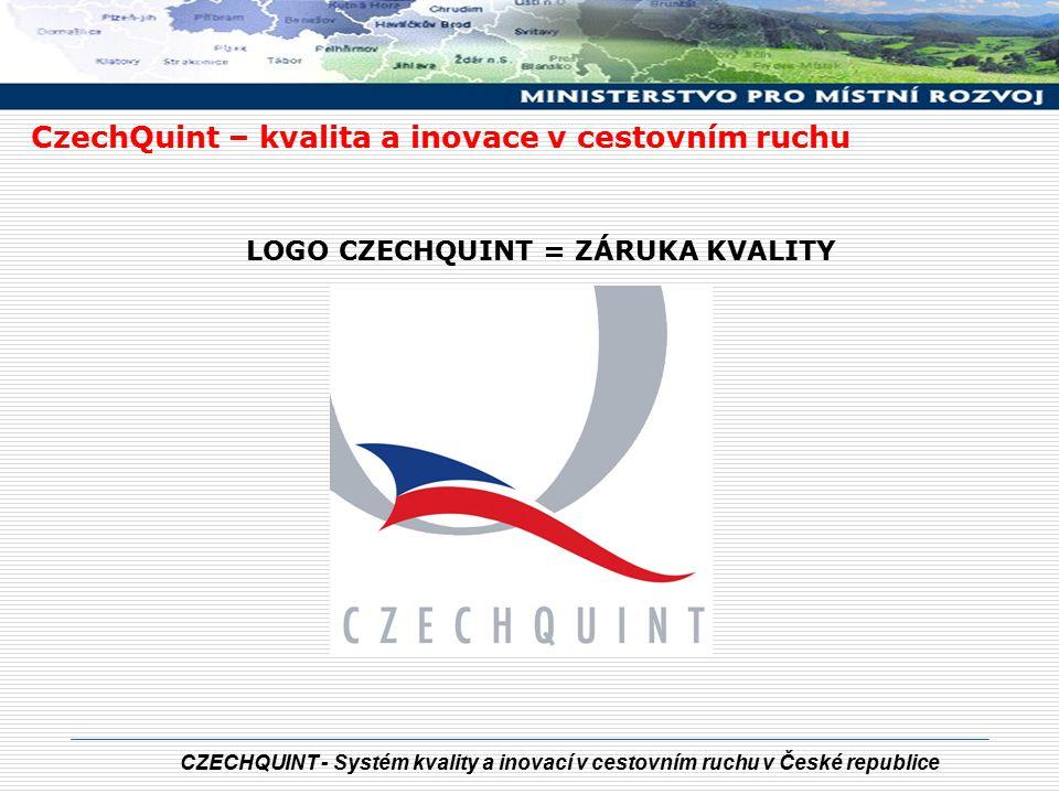 CZECHQUINT - Systém kvality a inovací v cestovním ruchu v České republice Ing.