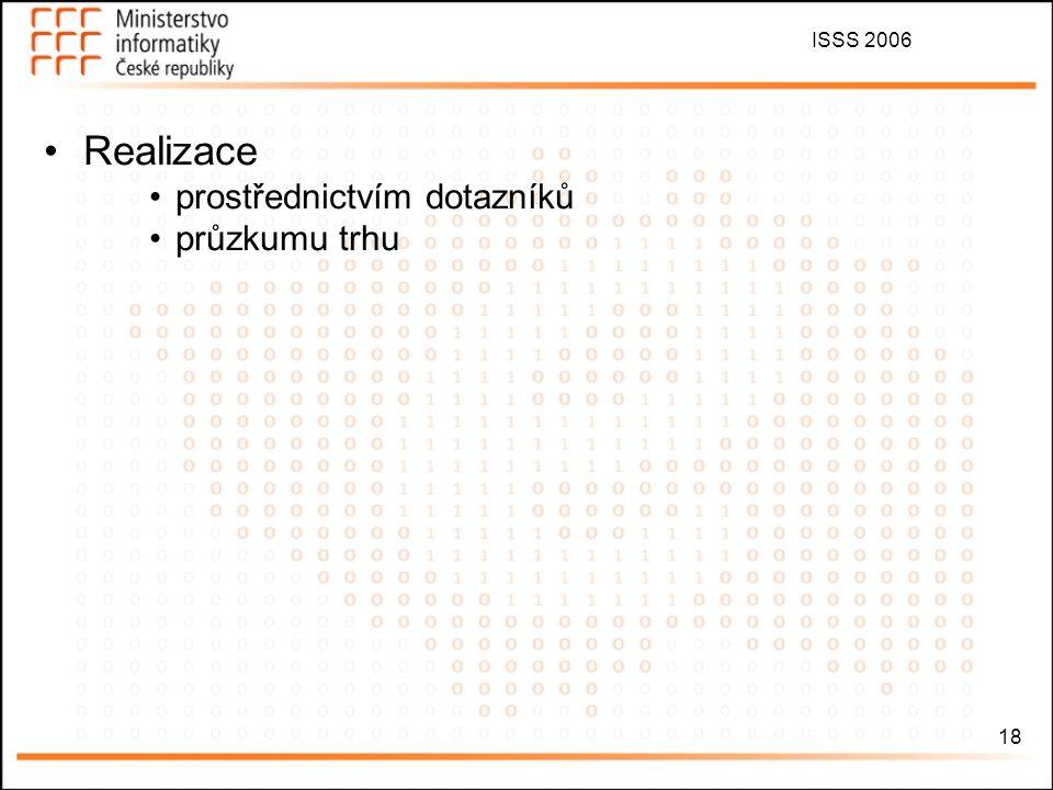 ISSS 2006 19 Přechod ČR na zemské digitální vysílání bude náročným krokem, a proto je nutná jeho včasná příprava.