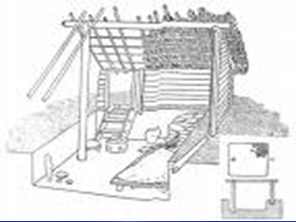 - pec ve slovanském obydlí - hrnčířské umění Slovanů