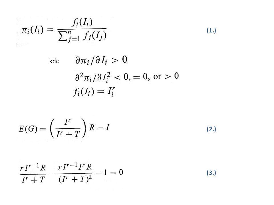a) klesajících nebo konstantních výnosů b) rostoucích výnosů c) rostoucích výnosů Za předpokladu