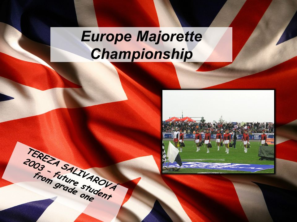 In Autumn I took part in The Europe Majorette Championship in London.