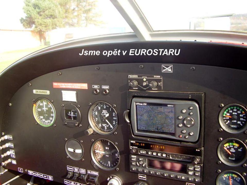 Jsme opět v EUROSTARU
