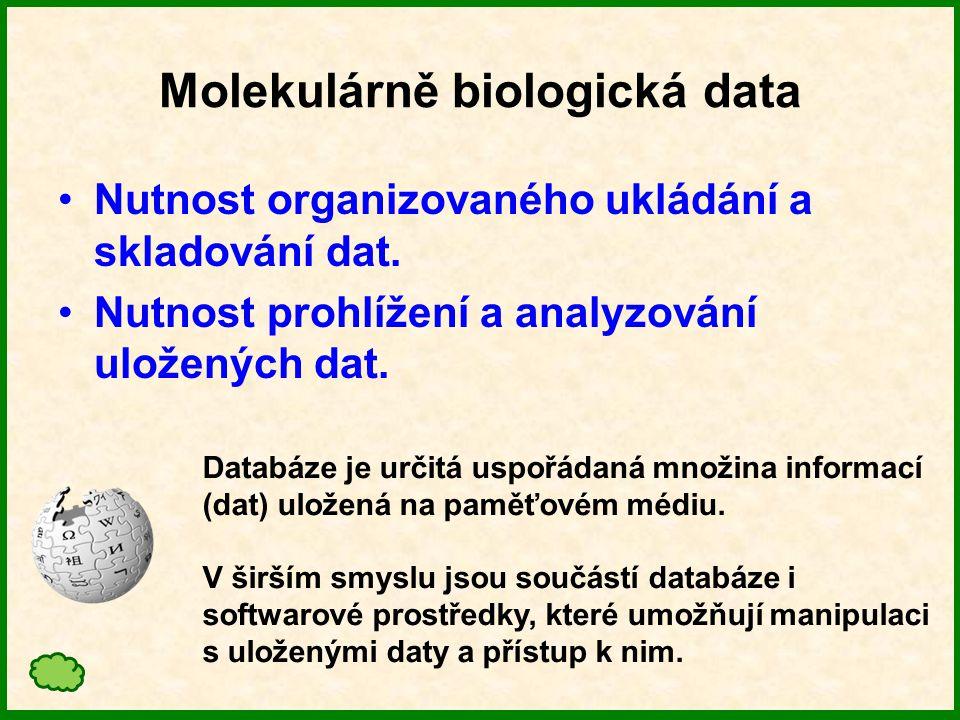 Analytické nástroje Vyhledávácí software Nutnost snadného, rychlého a specifického vyhledání informací.