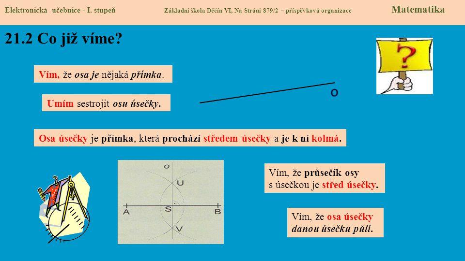 21.3 Jaké si řekneme nové termíny a názvy.Elektronická učebnice - I.