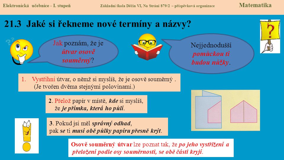21.4 Co si řekneme nového .Elektronická učebnice - I.