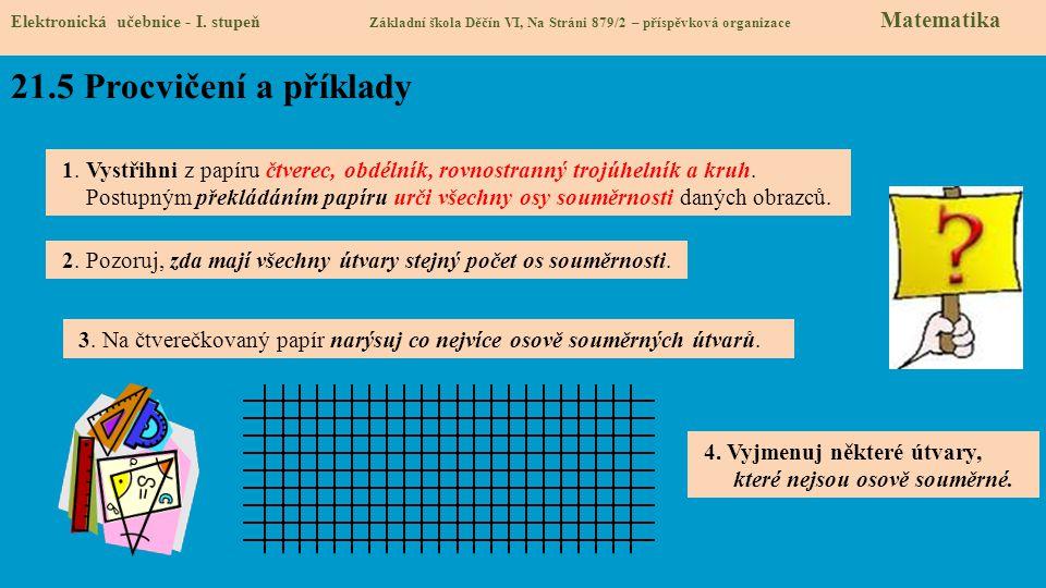 21.6 Něco navíc pro šikovné Elektronická učebnice - I.