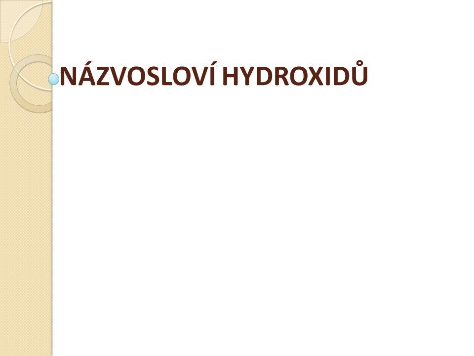 C) Hydroxidy