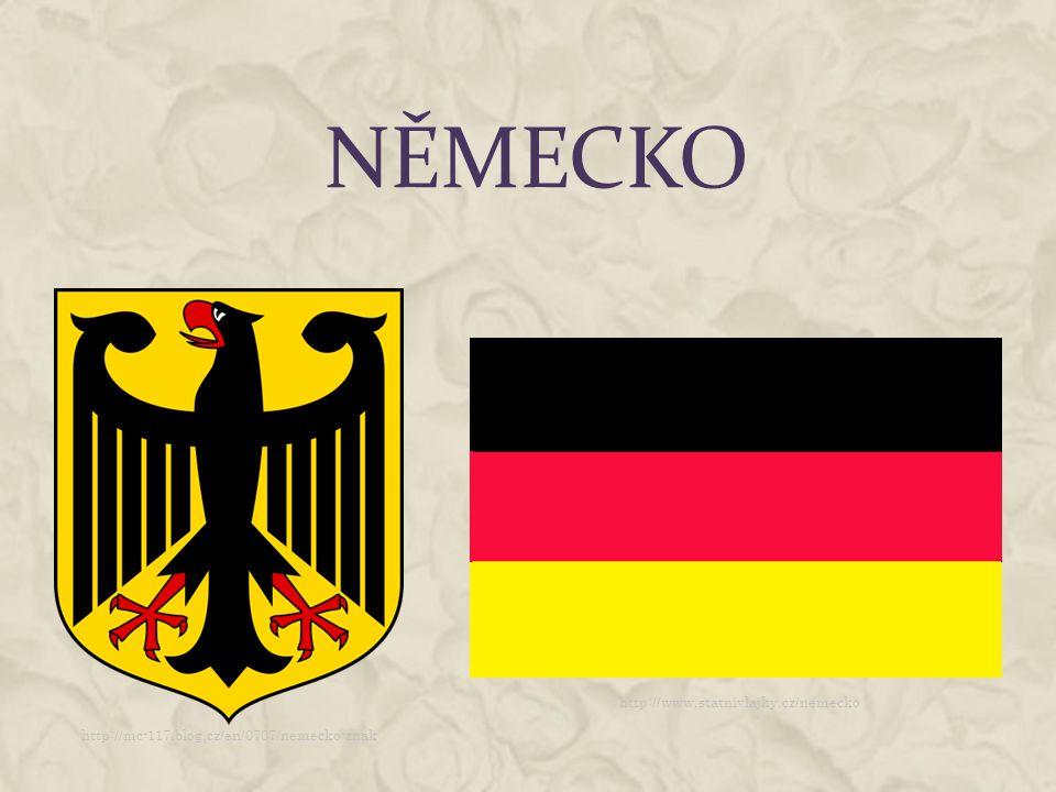 ZÁKLADNÍ INFORMACE  Rozloha: 35 702 km 2  Počet obyvatel: 81 147 265  Státní zřízení: federativní parlamentní republika  Národní hymna: Das Lied der Deutschen  Sousední státy: Rakousko, Belgie, Česká republika, Dánsko, Francie, Nizozemsko, Polsko, Švýcarsko