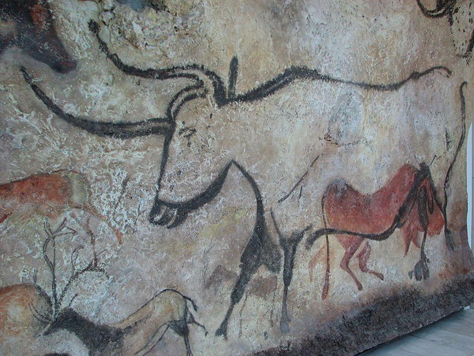 Cueva de las Manos (jeskyně Hands) v provincii Santa Cruz v Argentině (550 př.n.l) Bhimbetka skalní úkryty v Indii jsou součástí světového dědictví UNESCO (30 000 let)