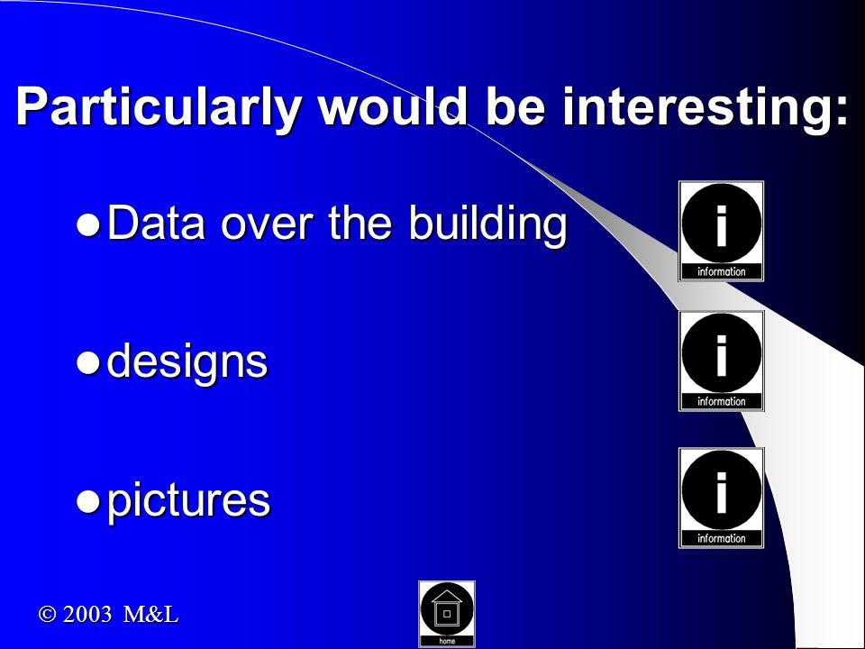architect architect engineer engineer owner owner dimensions dimensions seats seats use use  2003 M&L
