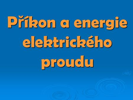 Elektrická účinnost