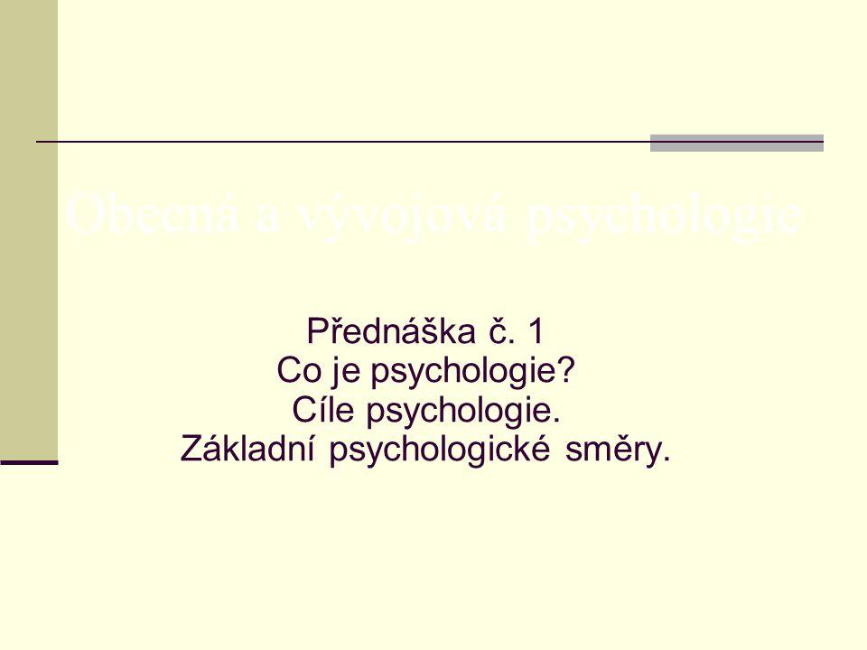 Co je vlastně psychologie .Jak lze jednoduše a srozumitelně definovat psychologii.
