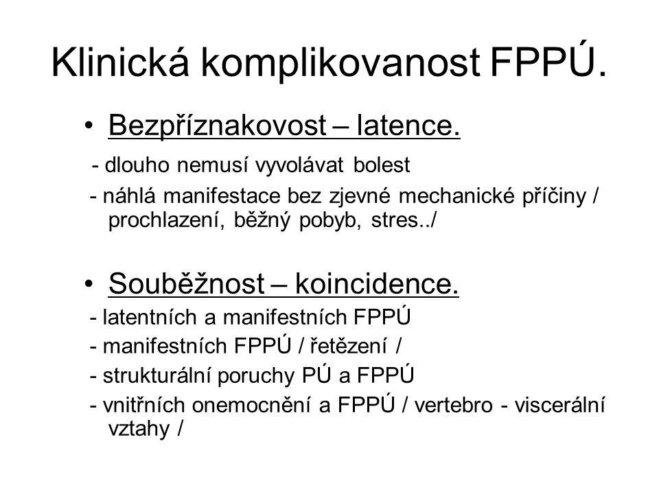 Funkční poruchy pohybového ústrojí.FPPÚ prvotně plně reverzibilní !.