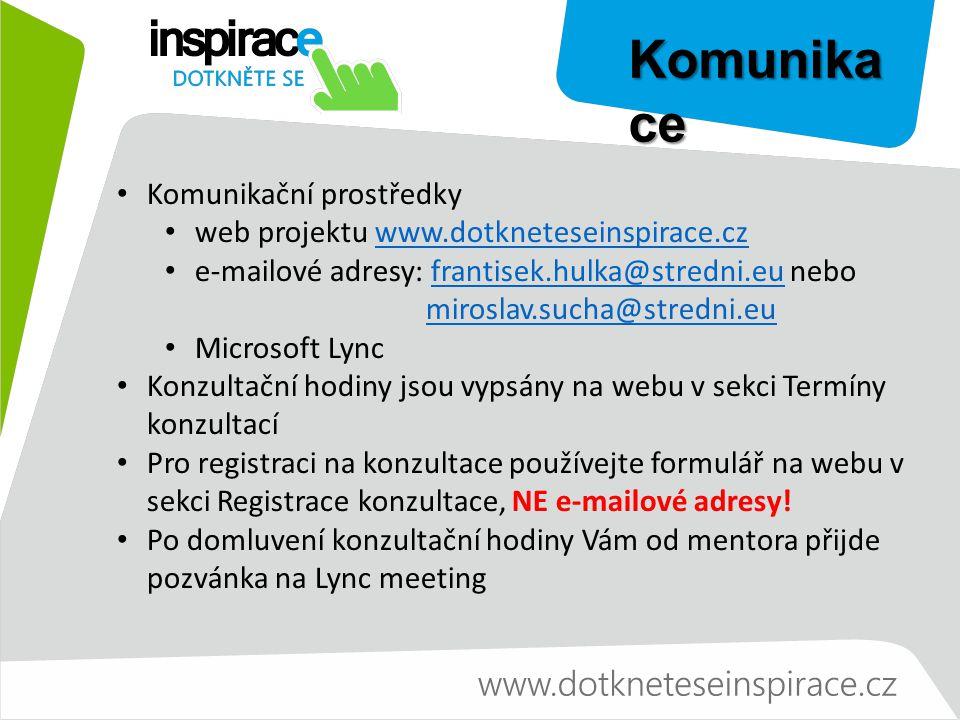 Microsoft Lync Komunikační nástroj Rychlé zprávy a online stav Video konference Schůzky Telefonie Propojení se Skypem