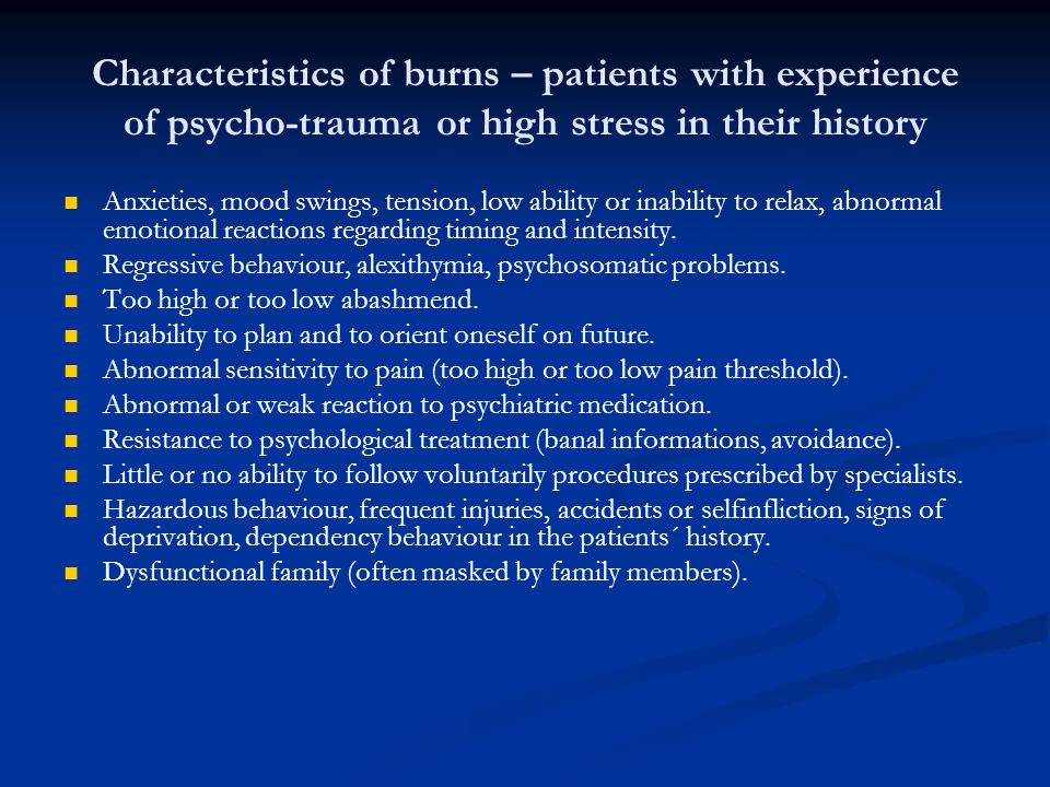 Research on trauma Delinquency.