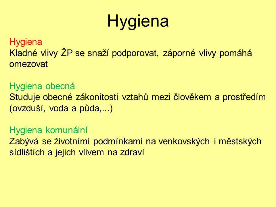 Vývoj oboru hygiena u nás V systému lékařských věd preventivním oboremV systému lékařských věd preventivním oborem 1897 – hygiena na UK (v německé části jižv 1884)1897 – hygiena na UK (v německé části jižv 1884) Max von Pettenkofer – zakladatel tradiční německé školy, zavedl pískovou filtraci vodyMax von Pettenkofer – zakladatel tradiční německé školy, zavedl pískovou filtraci vody Prof.