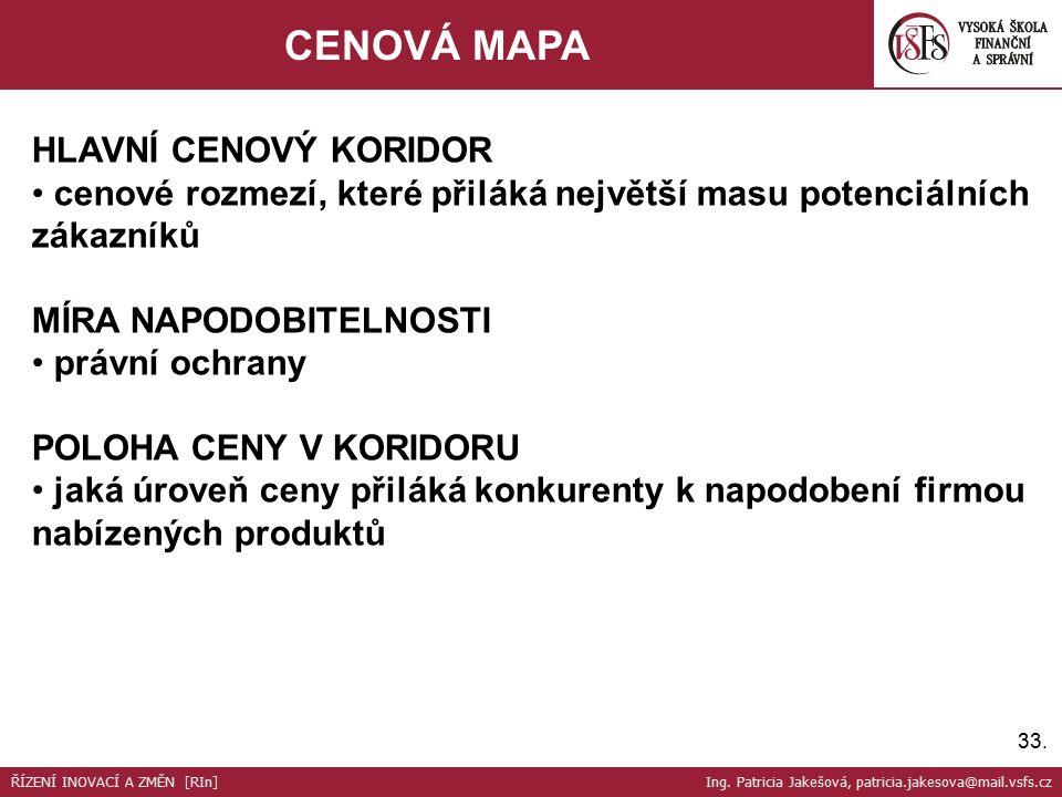 34.ZISKOVÝ MODEL CENA PLÁNOVANÝ ZISKPLÁNOVANÉ NÁKLADY EFEKTIVITA - ALIANCE .