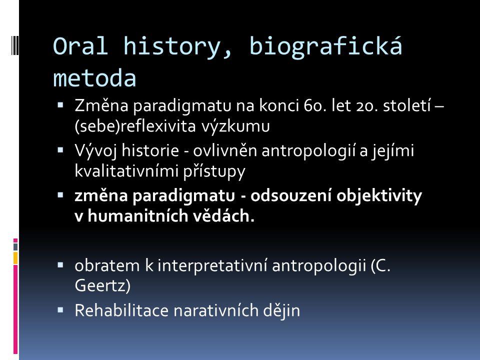 Historický kontext  20.stol.