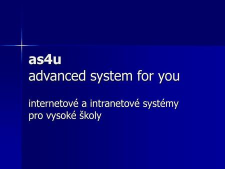 as4u advanced system for you