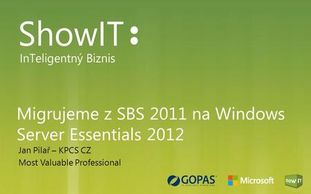 Migrujeme z SBS 2011 na Windows Server Essentials 2012
