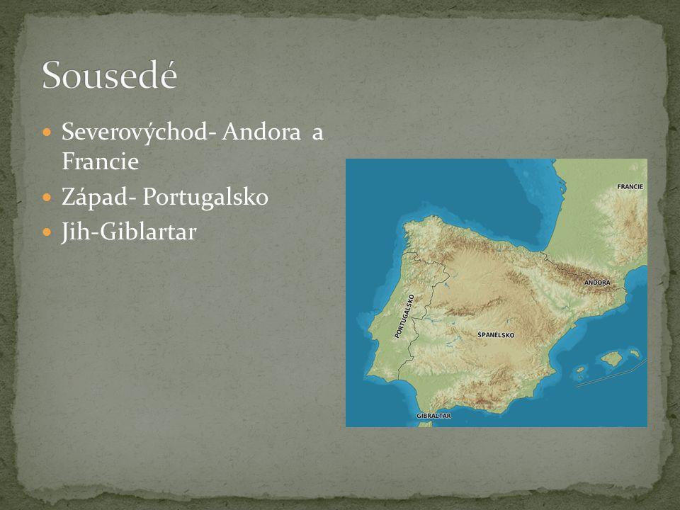 Řeky: Segura, Júcar a Turia Tajo, Ebro, Duero, Guadiana a Guadalquivir