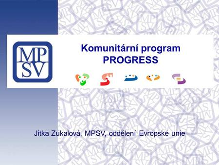 Komunitární program PROGRESS