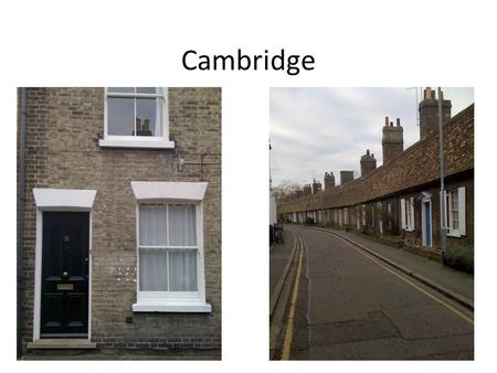 Cambridge.