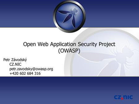 Open Web Application Security Project (OWASP)