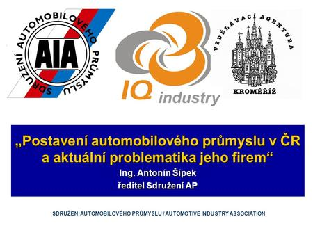 "KONFERENCE ""IQ Industry"""
