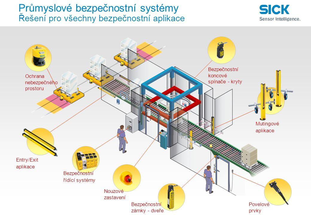 Průmyslové bezpečnostní systémy Řešení pro všechny bezpečnostní aplikace