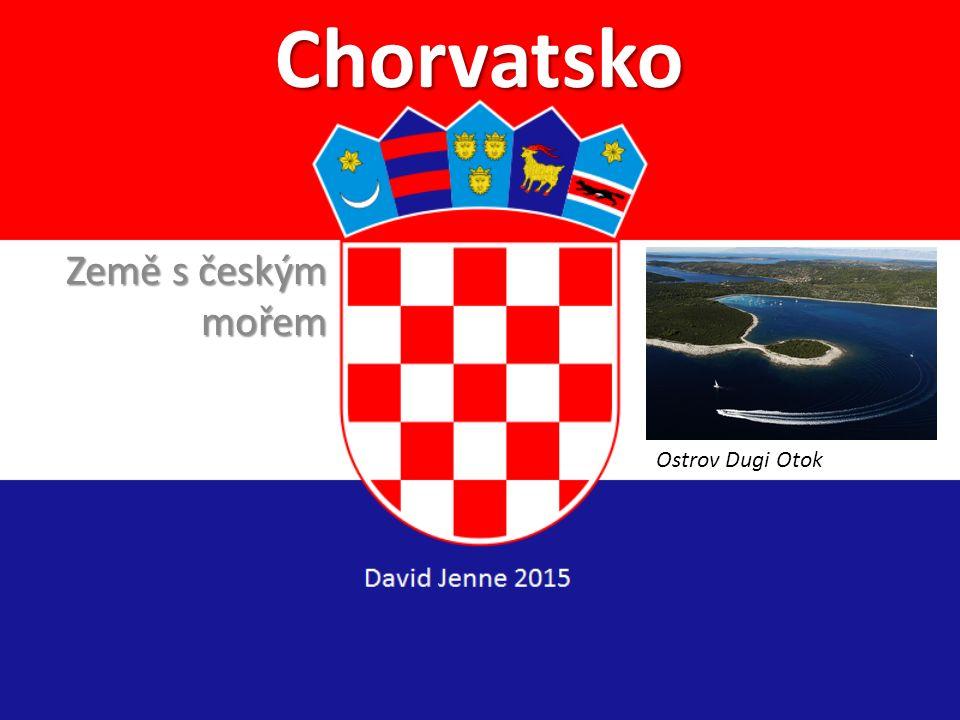 Chorvatsko Země s českým mořem Ostrov Dugi Otok