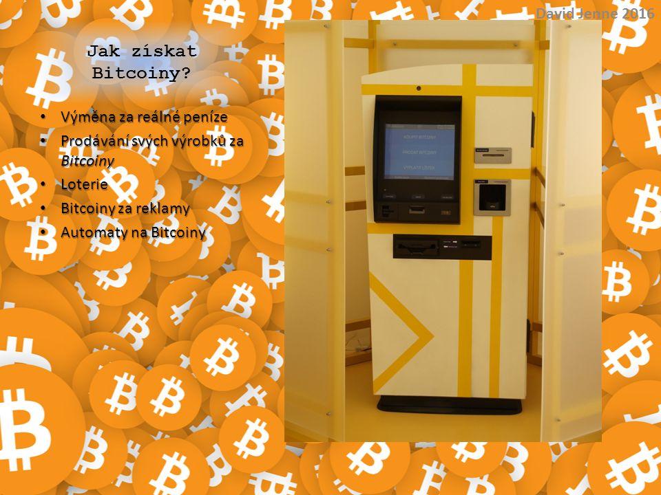 Jak získat Bitcoiny David Jenne 2016 Výměna za reálné peníze