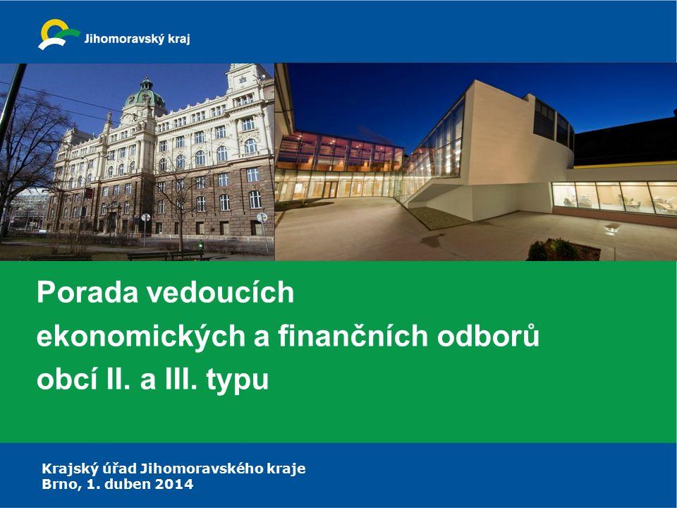Porada vedoucích ekonomických a finančních odborů obcí II. a III. typu