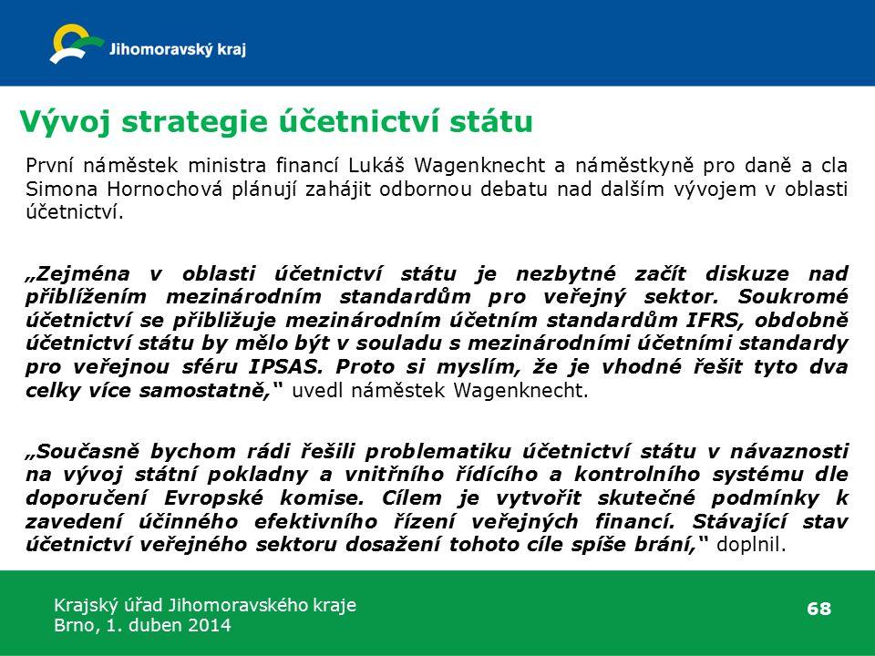 Vývoj strategie účetnictví státu