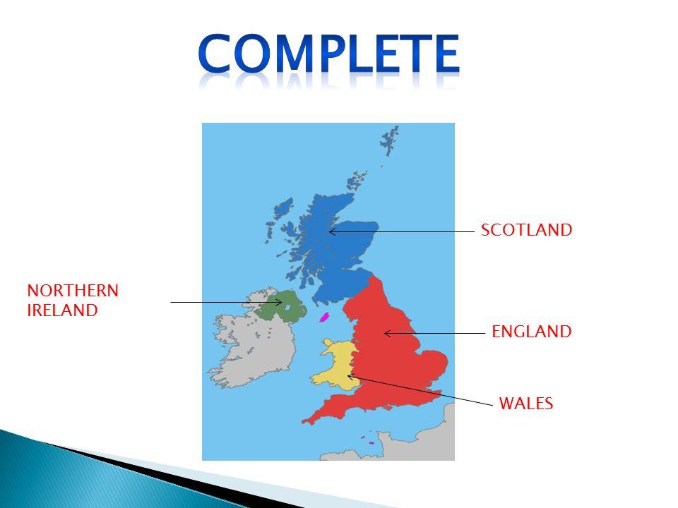 Complete SCOTLAND NORTHERN IRELAND ENGLAND WALES