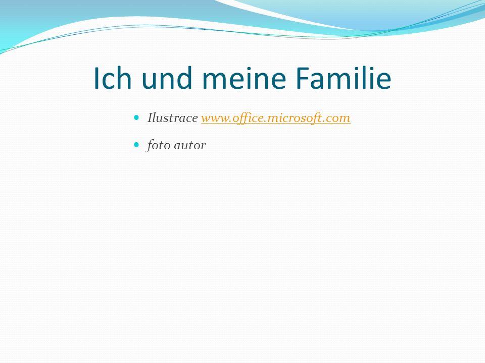 Ich und meine Familie Ilustrace www.office.microsoft.com foto autor