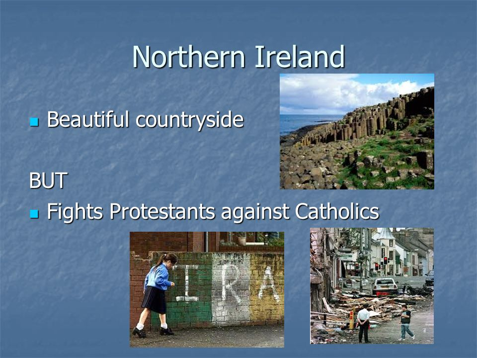 Northern Ireland Beautiful countryside BUT