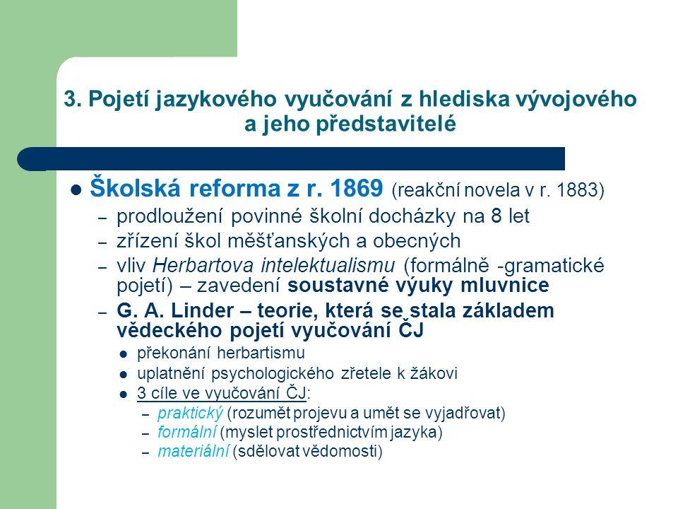 Školská reforma z r. 1869 (reakční novela v r. 1883)