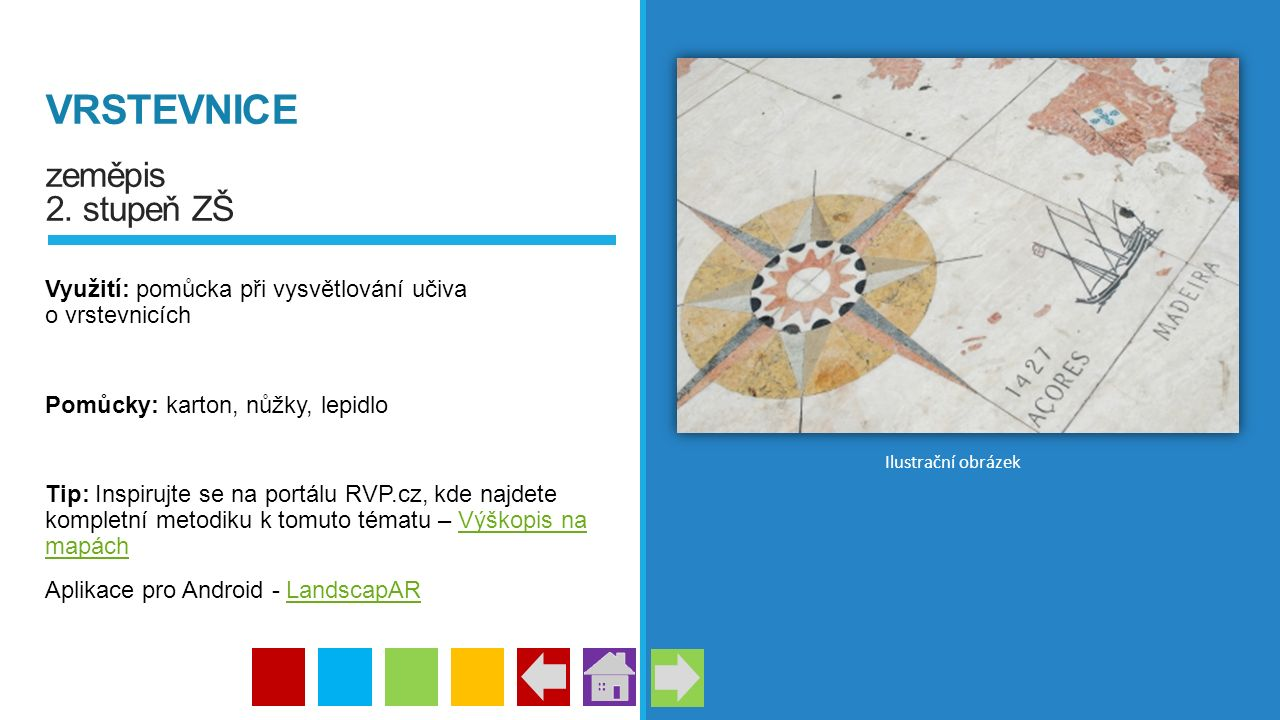 VRSTEVNICE zeměpis 2. stupeň ZŠ