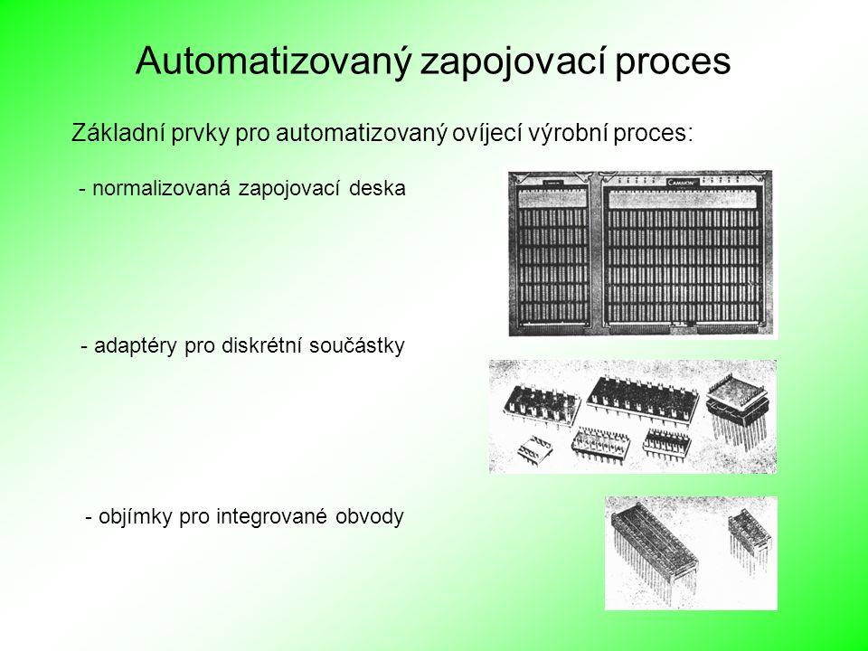 Automatizovaný zapojovací proces