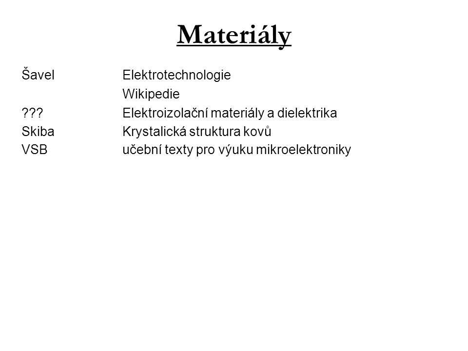 Materiály Šavel Elektrotechnologie Wikipedie