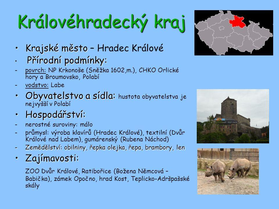 Královéhradecký kraj Krajské město – Hradec Králové