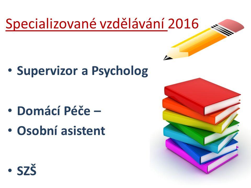 Specializované vzdělávání 2016