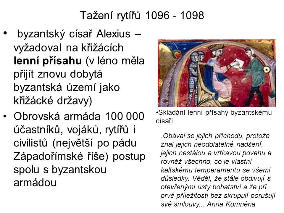 Tažení rytířů 1096 - 1098