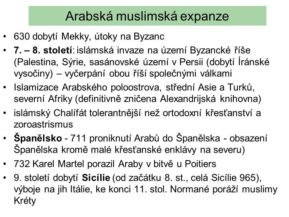 Arabská muslimská expanze
