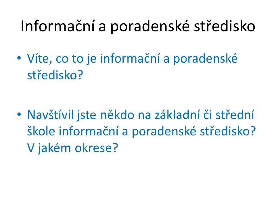 Informační a poradenské středisko