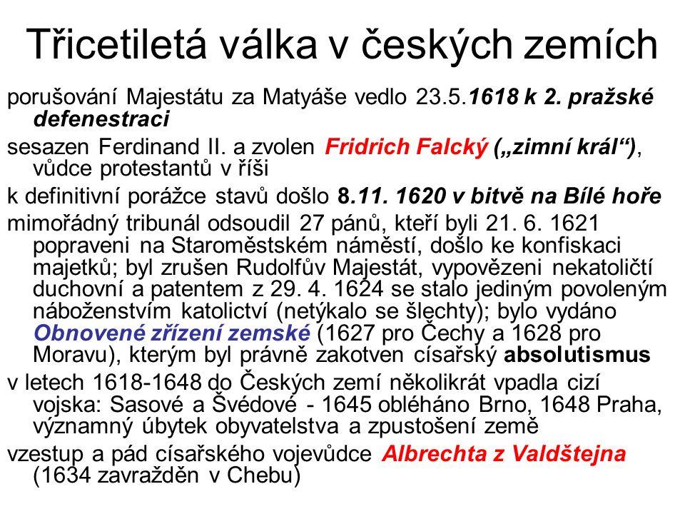 Třicetiletá válka v českých zemích