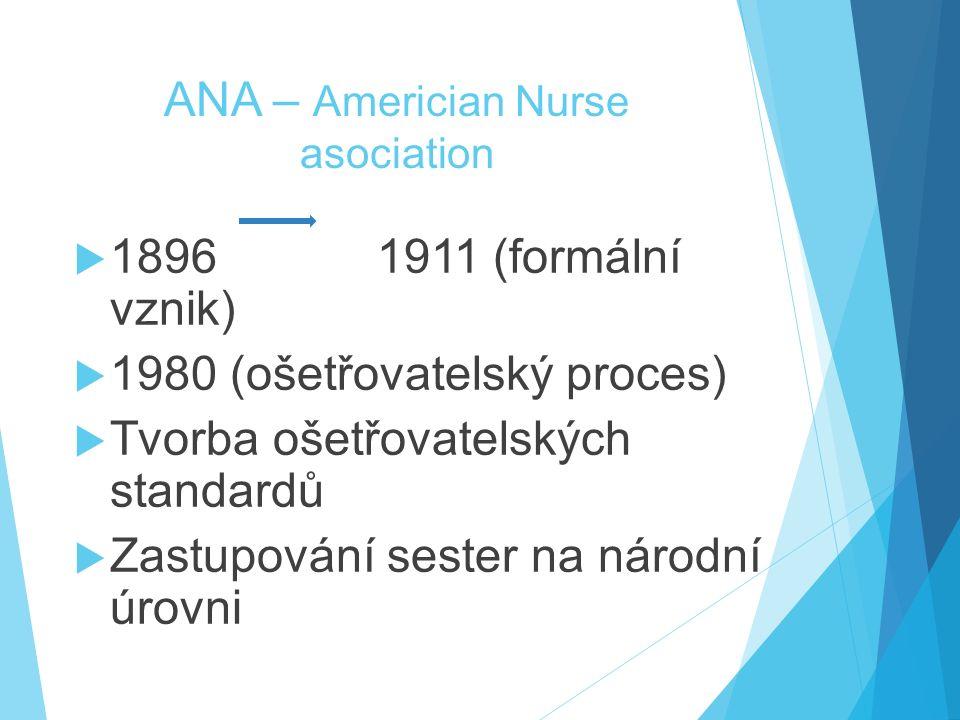 ANA – Americian Nurse asociation